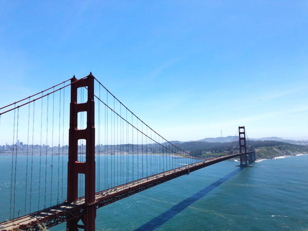 San Francisco Golden Gate. Traumhafter Anblick.