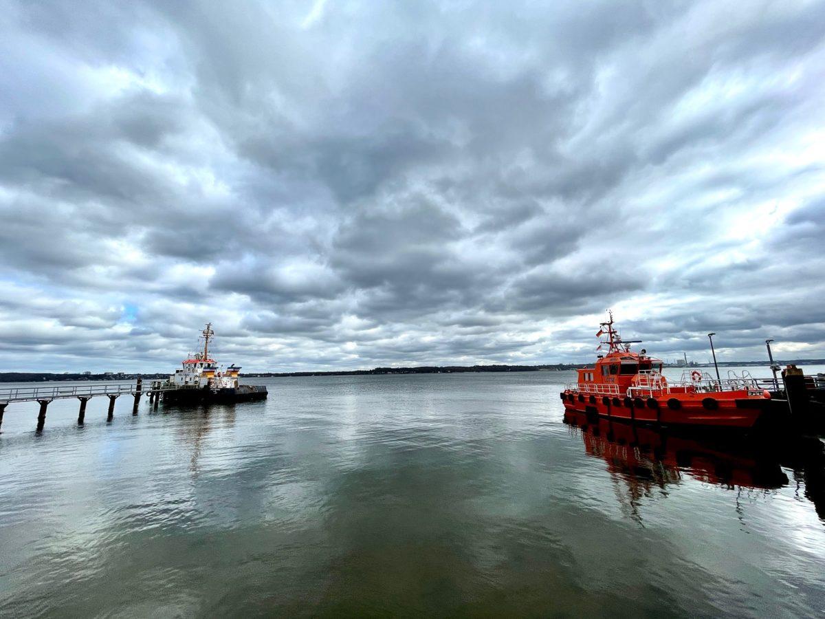 Lotsenboot Kiel Holtenau