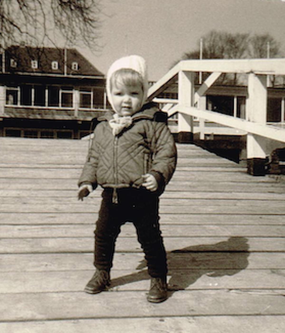 Ich am Hindenburgufer