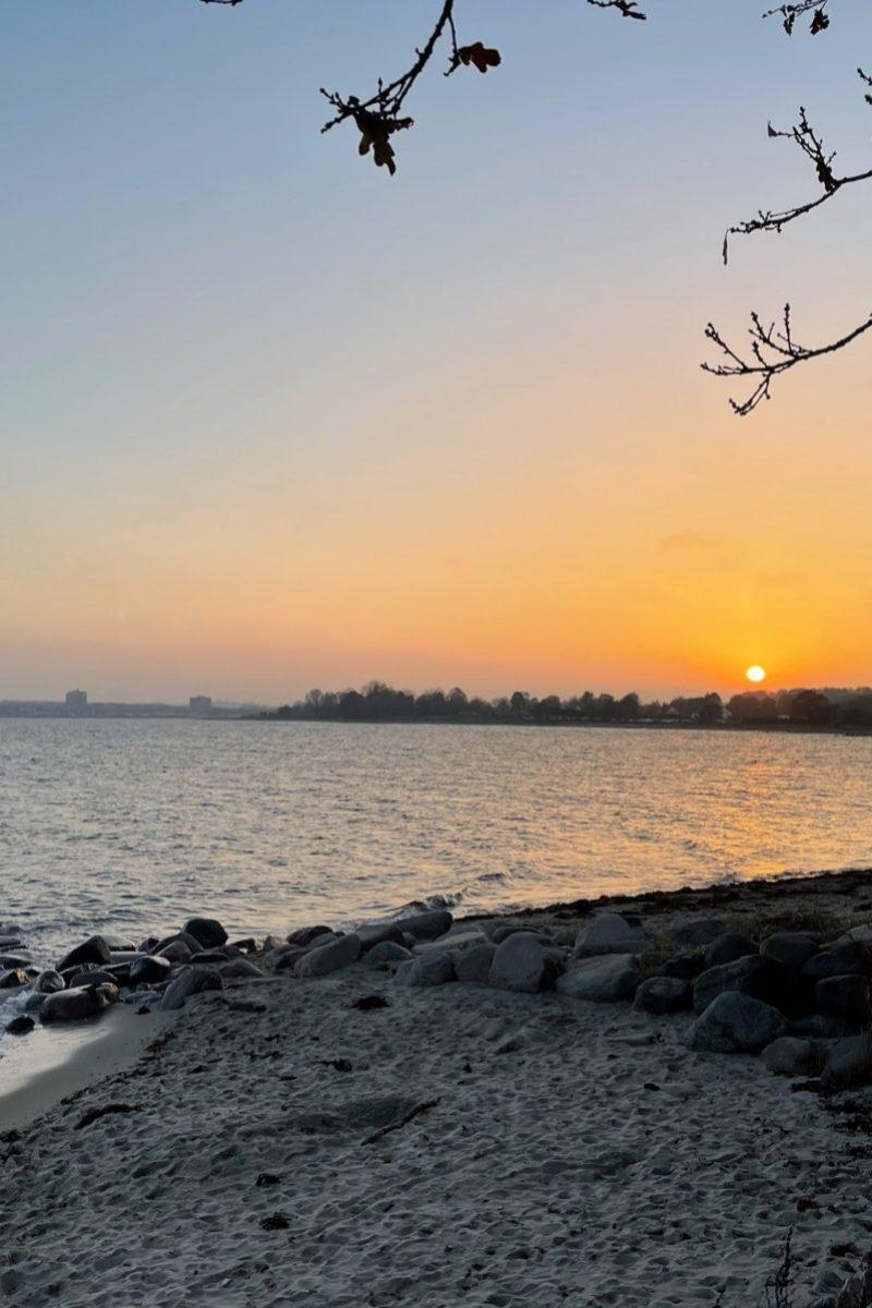 Abendsonne Ostsee